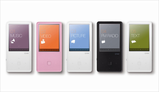 Available in black (2GB), white (4GB), and pink (8GB), the new iRiver E150 MP4 Player was launched in Korea recently. The player is designed with curved body and typical Scandinavian style GUI. Highlights: a 2.4-inch TFT LCD display, a stereo speaker, 30 fps video playback, FM radio, photo album, and […]