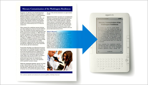 Priced at a mere $500 for personal use, the new OmniPage Professional 17 was designed to help users transiting paper into paperless environment anywhere and everywhere. Integrated with Microsoft Office, the software allows users to easily turn paper and PDF into fully formatted documents, complete with text, columns, tables and […]