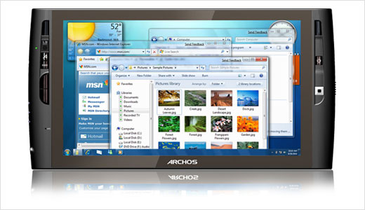 Powered by Intel® ATOM™ Z515 processor, the new ARCHOS 9 internet Media tablet weighs less than 800g and is very thin at 0.63-inch. This 9″ tablet is as powerful as miniPC but without the hassle of physical keyboard. Its resisitive touchscreen combined with a tactile interface that easy to use. […]