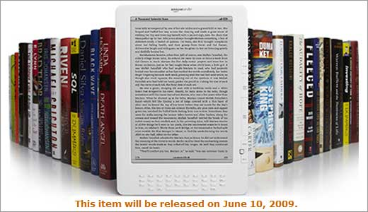 """After being listed to ship """"this summer"""" finally the Kindle DX got its release date: June 10, 2009. It's just 8 days from today but if you want it, you should order as soon as possible because they prioritize orders on a first come, first served basis. See image below […]"""