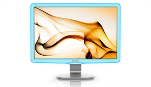 "New LightFrame Monitor was announced by Philips Europe back in 9 June 2009. The monitor is 22-inch wide (diagonally) and is expected to be available next month (July 2009) with $285 price-tag. Just like me, You may wonder what the ""LightFrame"" means. I think it refers to the light-blue frame […]"