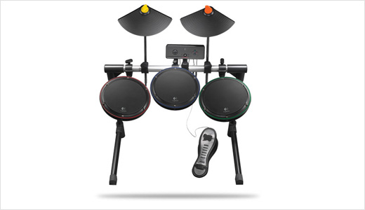 With pricing set at $230, the new Logitech Wireless Drum Controller for PS3 is expected to be available in the U.S. beginning in July and in Europe beginning in August. Designed for Guitar Hero, the controller is compatible with both PS 3 and PS 2. It's powered by Two AA […]