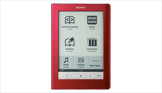 Available in red, black, and silver, the Sony PRS-600 Reader Touch features a 6-inch touchscreen screen (completed with stylus), 512MB built-in memory which expandable through a Memory Stick/SD card slot. For connectivity, the reader only support USB, sorry no wireless support this time. Priced at about $300, the Reader Touch […]