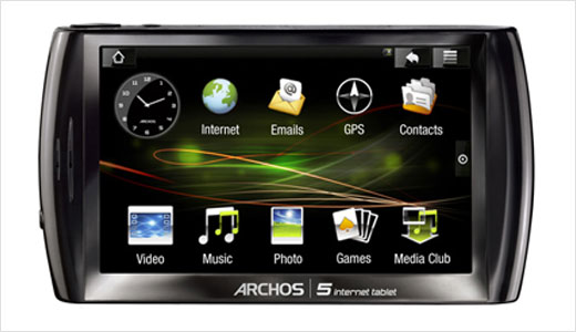Based on Andorid, the new ARCHOS 5 internet tablet has been officially announced. The tablet packs advanced features including built-in GPS, FM receiver & transmitter, Digital TV capabilities, WiFi connectivity, and Bluetooth technology to tether a 3.5G mobile phone. With pricing starts from $300, the device powered by a 1GHz […]