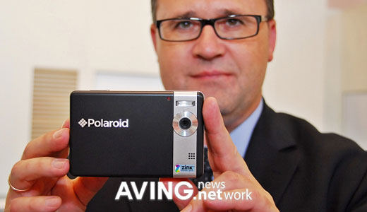 Presented during IFA 2009, the Polaroid Instant Digital Camera features 5.0 megapixel digital camera, 3.0″ bright color LCD for viewing images, SD card slot for memory expansion, integrated instant printer, and rechargeable battery. The device allows user to automatically save the photos to camera's built-in memory or SD card.