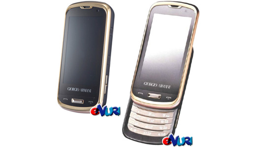 Launched in Korea, the Samsung Armani W820 / W8200 has a golden trim around its screen and keypad. This luxury phone comes with a 3.1 inch WVGA AMOLED touchscreen display, video-calling camera coupled with a 5MP, and T-DMB support. Regarding connectivity it supports HSDPA and Bluetooth as well. No words […]
