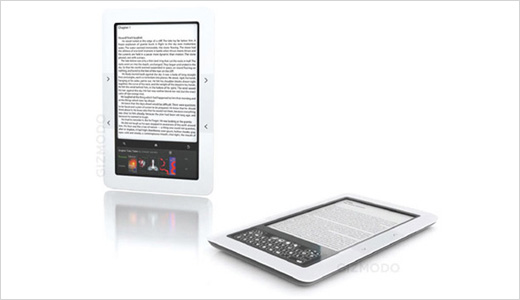To challenge the Amazon's Kindle which controls more or less 60% of eBook market, Barnes & Noble is reported to launch the same reader with similar price of Kindle US at $259. The new reader which called Nook has a color touch screen. Read