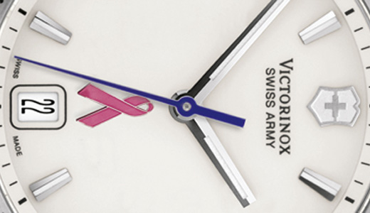 In partnership with Susan G. Komen for the Cure® in the fight to end breast cancer forever, Victorinox Swiss Army offering a Special Edition Timepiece to customers as a notion of solidarity against this terrible disease. For each Special Edition Victorinox Swiss Army Timepiece sold, they'll donate 10% of the […]