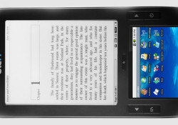 Based on Andoroid, the Alex dual-display multimedia eReader will be on display at CES today but users can purchase the device starting February 22 for about $400. This eReader incorporates an open system that allows users to download any book or document that confomrs to the Adobe ePUB/PDF/DRM standard or […]