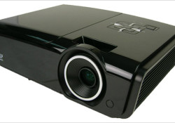 Aimed to bring 1080p resolution from the home entertainment system to the office, the Vivitek D952HD projector equipped with a DLP® chipset and BrilliantColor™ from Texas Instruments and features a brightness of 3500 lumens and a 2400:1 contrast ratio. The D952HDis expected to be available in April for $2000.