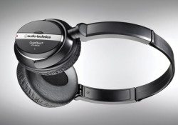 Boasting 80% noise reduction, the ATH-ANC25 Active Noise-Cancelling Headphones utilizing advanced QuietPoint ANC technology that detects environmental noise via miniature built-in microphones, and applies a corresponding sound-cancelling signal. The ATH-ANC25 manufactured by Audio-Technica and will be available in February for about $100. Compatible with most of music players including iPod, […]