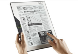 Optimized for newspaper and magazine content, the Skiff Reader will be on display at CES 2010 in Las Vegas later this week. The device boasts 11.5-inch e-paper display with 1200×1600 pixel resolution and mentioned as the thinnest e-reader available in the market with only 0.25-inch in overall height. The Skiff […]