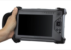 "Logic Instrument introduced ruggedized handheld computer – the FieldBook. Available in 15 different configurations of I/O ports and expansion slots, the FieldBook operates from -20C to +50C in rain or dust-storms and survives up to 4' drops. The standard FieldBook features a 7"" Sunlight readable 1024 x 600 pixel WVGA […]"