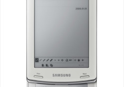 """Samsung announced today the imminent availability of its first-ever eReader product for the US market. The Samsung eReader allows users to easily access content through WiFi, write notes directly on the page, highlight content and share notes with friends and peers. Highlights: Electromagnetic resonance (EMR) stylus pen, a 6"""" E-ink […]"""