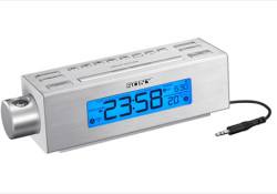 Sony's new ICF-C717PJ multi-feature clock radio will be available from April 2010. Mentioned as the first clock radio from Sony with a built-in projector, the ICF-C717PJ allows consumers to twist the lens module to any angle and beam a super-sized time display onto any wall or ceiling for comfortable viewing. […]