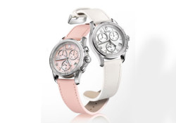Based on the first edition of its Chrono Classic Ladies timepiece, Victorinox pleased to introduce the latest styles in this collection. Two new colors are added for 2010 — white and coral pink. Both have coordinating genuine leather straps and gleaming mother-of-pearl dials that are sure to garner compliments while […]