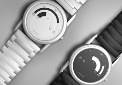 Designed by Azahara Morales, Koko Muo watch requires you to quit from your old habit in reading watch. It's not a digital watch, but analog one. See image below to undestand how to know what time it is. Cool!