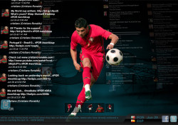 "Cristiano Ronaldo has a brand new web site that utilizing flash deeply: www.cristianoronaldo.com. It seems the site using auto feeder to pull content from all over the web that contain the phrase ""cristiano ronaldo"" or are connnected to his own twitter account. And yes it's a full flash, so it's […]"