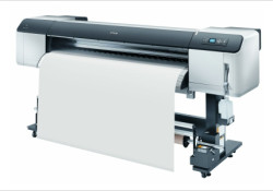 Utilizing an Epson UltraChrome® GS ink, the GS6000 64-inch wide roll-to-roll printer produces fine detail with a maximum resolution of 1440×1440 dpi and variable-sized droplet technology as small as 3.7 picoliters. The GS6000 is able to cross over many different disciplines of large format printing, it's able to get an […]