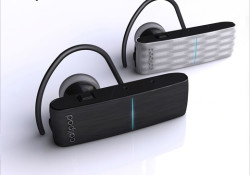 Callpod introduces the Onyx and Vetro Bluetooth headset for mobile phones, PDAs, VOIP products and computers. The Onyx and Vetro Bluetooth® headsets both offer a 164 ft (50m) range and can also simultaneously connect to your PC or Mac for Skype® calls. In addition, the headsets have advanced dual-mic noise […]