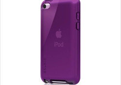 Designed to increase grip-ability with a sleek, high-gloss finish, the Belkin Grip Vue Case for iPod Touch available in various colors including Clear, Taro, Royal Purple, Night Sky, Black; Metallic: Black Pearl, White Pearl, Taro Pearl. (the product is coming soon) Read