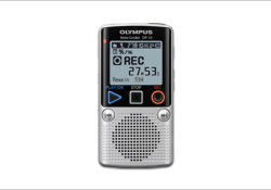"The Olympus DP-10 is a ""microcassette successor,"" featuring the simple design and operation of analog recorders but with the memory, recording quality, battery life and storage capacity of a digital device. About the size of a deck of cards, the DP-10 fits neatly in the palm of your hand. The […]"