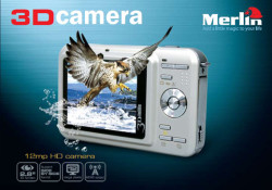 Aiming to help you to create your own 3D contents as easy as possible whenever and wherever you go, Merlin offers two 3D gadgets, Merlin 3D camera and Merlin 3D Viewer. While you're on your trip and see beautiful objects, the Merlin 12MP HD 3D camera will help you capture […]