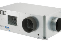 Designed for server rooms and other spaces with dense heat loads, the MovinCool CM25 self-contained, ceiling-mounted air conditioner is only 20 inches high, enabling it to fit above a drop ceiling, it also requires no external compressor and condenser, further reducing installation and maintenance costs. What I want to mention […]