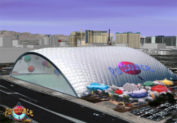 """One Giant Leap developed the world's first indoor ballooning attraction in Las Vegas – Parabounce® Vegas – an air-inflated, 100,000 square foot """"bubble style"""" dome where up to 20 flyers can simultaneously float, soar and bounce in individual, 22-foot, Parabounce helium balloons. The new indoor attraction will enhance the experience […]"""