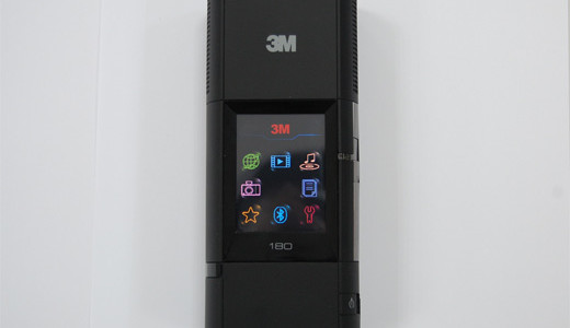 Displayed at the recent CES last week, the 3M Pocket Projector MP180 offers 32 lumens of brightness and SVGA resolution. With an estimated price of $449, the MP180 also features an integrated MP3 player, 4 gigabytes of internal memory, a micro SD card slot, and USB. Operating the device is […]