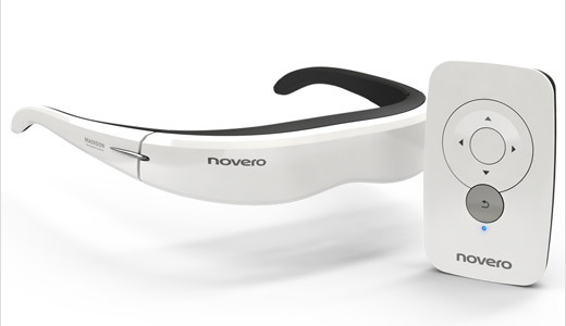 "Premiered at the recent CES in Las Vegas, the new video eyewear novero Madison allows you to be immersed in a full-sized viewing experience equal to watching a 30"" display 6 feet in front of you. Compatible with any portable video players, such as mobile phones and iPods, the Madison […]"