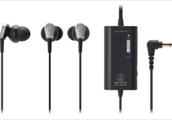 With pricing of $99 MSRP, the new in-ear ATH-ANC23 QuietPoint active noise-cancelling (ANC) headphones offers a 90% active noise-cancelling performance, Audio-Technica's new Comply™ ear tips, and a handy in-line volume control. Ideal for travel, the ATH-ANC23 is compatible with all audio sources, including MP3 & other portable players. Other highlights: […]