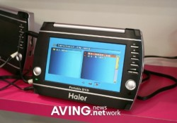 Haier launched its new 7″ portable DVD player namely 'HPD-UMPDP7' during Canton Fair 2007. The player comes with useful features for mobility users include MS/MMC/SD Card Jack, USB Jack, and compatible with DVD/DVD+R/RW/MP3/MP4/CD/CD-R/CD-RW/VCD/MPEG4. The player also utilizes small stand to hold it when needed. Via AVING