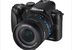 "Samsung launched its new NX11 mirrorless interchangeable lens camera. Compatible with the new i-Function lens, the NX11 will come complete with an 18-55mm, a 20mm pancake and a 20-50mm zoom silver color i-Function lens. Alongside the built-in flash and built-in electronic VGA (640×480) viewfinder, the NX11 has a 3.0"" AMOLED […]"