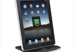The DIGIPOWER Universal Charging Dock works with iPad, iPhone, or iPod. Its attached 4ft cable connects to a wall charger to power up or to a computer to charge and sync. The integrated blue LED on the base of the stand lets you know when you have power. The wide […]