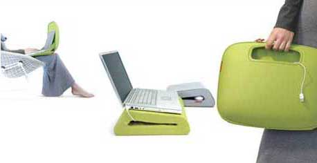 This colorful laptop accessories from belkin comfortable when use at your home, this accessories include 3 items: pocket top (to store your laptop while not in use, use it as workstation, this pocket can hold your laptop accessories like adapter, mouse, etc.), cush top (as padded comfort for long term […]