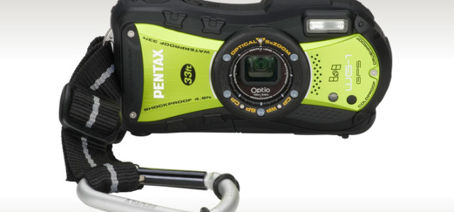 The new Optio WG-1 GPS compact camera from PENTAX is waterproof to 33 feet, shockproof from 5 feet, and coolproof to a sub-freesing -10 C° or 14 F°. This 14 megapixels camera comes with Digital Microscope mode that enlarges up to 37X. Designed for adventurers, the Optio WG-1 also includes […]