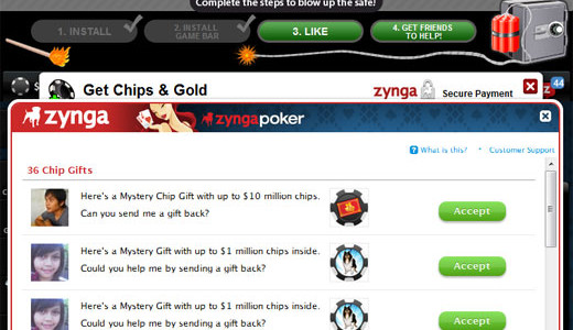 Hi everybody, this time I want to write about something that took my attention recently, the Zynga Poker game on Facebook. I think it's a phenomenon just like facebook itself. And I know this is not a fresh topic for most of you, but it keeps pushing me to mention […]