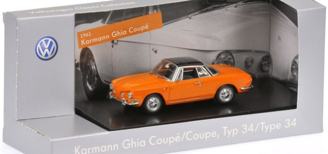"The model of Volkswagen Classic Edition brings back memories of unforgettable cars. The twelve miniatures tell the product story in the scale 1:43, those include #1 Mille Miglia beetles, green, of Straehle, type 11A (1949); #2 Karmann Ghia Coupe, Type 34, Nepal Orange (1961); #3 Type 147 ""Fridolin"", Yellow, (1964); […]"