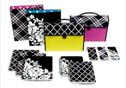 Carolina Pad released its 2011 collections including the 2011 Simply Chic Collection. The collection coming with simple black and white patterns smartly paired with bright greens, pinks and blues make these products the ultimate office companions. Exciting new designs and updated fan favorites by signature designer JACK!E are also available […]
