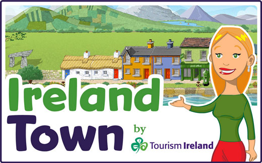 Ireland Town social game on Facebook