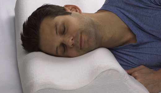 Made by Sleep Innovations, the new Memory Foam Anti-Snore Pillow is designed to help reduce or eliminate snoring. Designed for both back and side sleepers, the pillow is contoured to position the neck at an 18 degree angle to allow for optimal airway opening. It is made of Sleep Innovations' […]