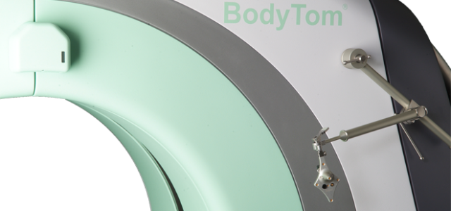Mentioned as the world's first portable, full body, multi-slice CT scanner, the battery powered BodyTom boasts an impressive 85cm gantry and 60cm field of view (FOV). The BodyTom can be easily transported from room to room, similar to the widely used portable chest X-ray systems. BodyTom™ is DICOM 3.1 compliant […]