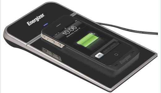 Energizer was showing a new single-zone inductive charger at MobileFocus during CTIA Wireless. Meets the new universal charging standard, the device gives consumers the freedom to charge any Qi device 5 Watts or less.