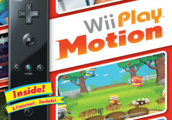 On next June 13, Nintendo will launch Wii Play™: Motion, which includes 12 new motion-controlled games and will be packaged with a black Wii Remote™ Plus controller. From catching a gust of wind by tilting an umbrella to fending off garden pests by swinging a mallet, each of the 12 […]