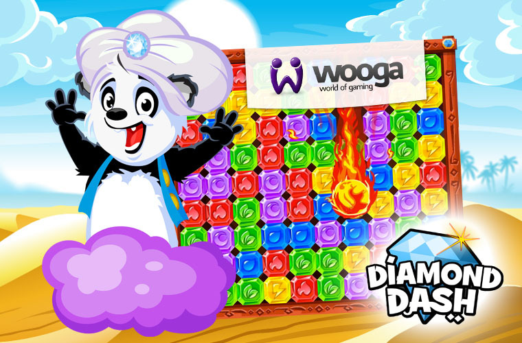 wooga's new game Diamond Dash