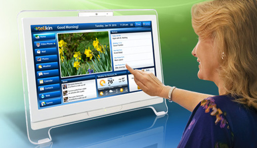 """The Telikin computer is the new """"Easy to Use"""" personal AIO Touch computer with built in software for all popular functions targeted at home users and senior users. Unveiled at the 2011 CES in Las Vegas, the Telikin now accessible to D&H's entire network of IT resellers, consumer electronics dealers […]"""
