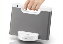 Compatible with iPod/iPhone models, the Sony's new RDP-M15iP portable speaker dock delivers a powerful 10W+10W of crisp stereo sound from its elegantly sleek body. Using it is easy, just slip in your player to share music and video content from your iTunes library while the battery of your iPod/iPhone recharges. […]