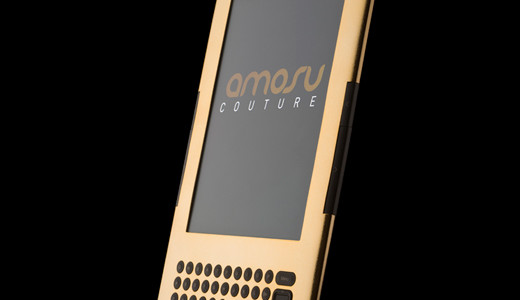 Amosu Couture has launched the world first 24ct Gold Kindle. Kindle is Amazon.com's #1 bestselling item for two years running. It's the most-wished-for, most-gifted, and has the most 5-star reviews of any product on Amazon.com.