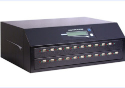 """Kanguru released new USB Duplicators intended to streamline the loading of data onto multiple USB devices. Featuring a built-in 500GB hard drive for storing duplication jobs, Kanguru USB Duplicators come equipped with a multi-function Liquid Crystal Display (LCD) that displays duplication options including """"Full"""", """"Brief"""", """"Resize"""" and """"Smart"""" for a […]"""